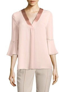 Elie Tahari Rose Silk Blouse