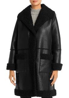 Elie Tahari Rosie Faux-Shearling Coat