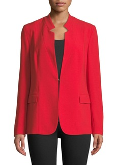 Elie Tahari Safina Relaxed Crepe Jacket