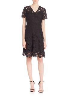 Elie Tahari Samira Fit-and-Flare Dress