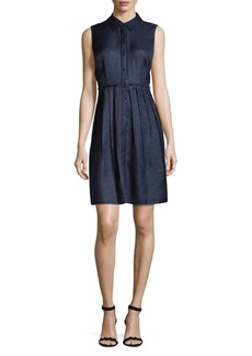 Elie Tahari Samiyah Button-Front Dress