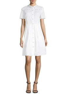 Samiyah Fit-&-Flare Shirt Dress