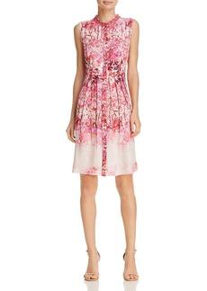 Elie Tahari Samiyah Printed Silk Dress