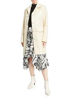 Elie Tahari Sampson Button-Front Coat