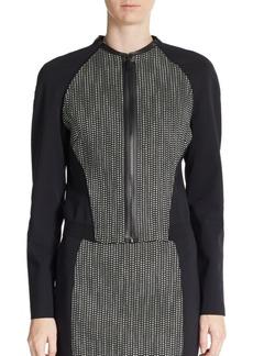 Elie Tahari Sandie Cotton-Blend Jacket