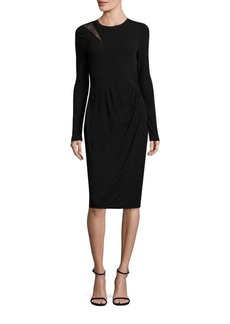 Elie Tahari Saniya Matte Jersey Dress