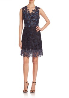 Elie Tahari Savon Lace Dress