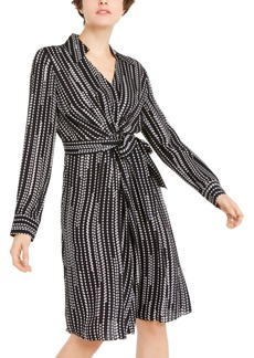 Elie Tahari Saxon Printed Dress
