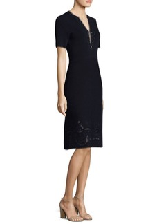 Elie Tahari Scout Sweater Dress