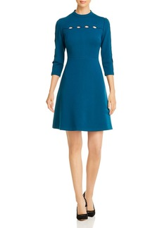 Elie Tahari Senna Cutout Detail Dress