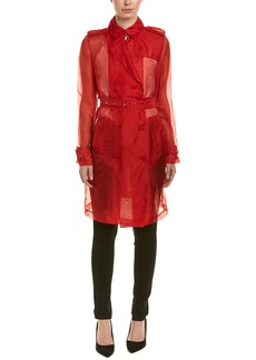 Elie Tahari Silk Coat