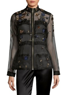 Silk Sheer Jacket