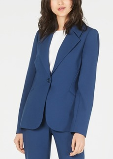 Elie Tahari Single-Button Blazer