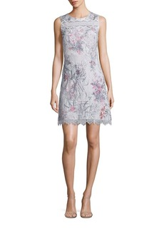 Elie Tahari Sklya Printed Dress