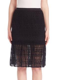 Elie Tahari Skye Lace Skirt