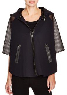 Elie Tahari Sport Caitlin Mesh Sleeve Jacket