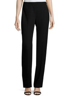 Elie Tahari Stella Straight-Leg Stretch-Knit Pants