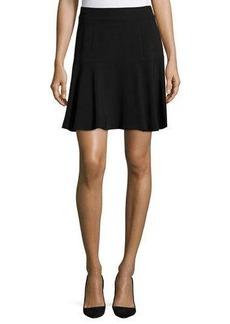 Elie Tahari Stretch-Knit A-Line Skirt