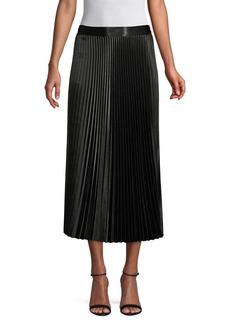 Elie Tahari Sue Pleated Skirt