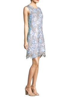 Elie Tahari Tallulah Floral Lace Dress