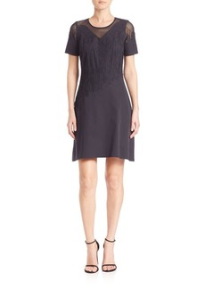 Elie Tahari Tanner A-Line Dress