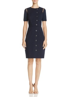 Elie Tahari Tarina Button Front Dress - 100% Exclusive