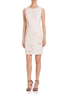 Elie Tahari Tera Printed Sheath Dress