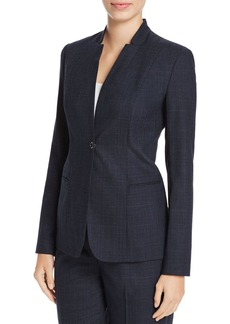 Elie Tahari Tori Plaid Blazer - 100% Exclusive