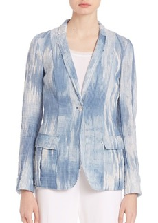 Elie Tahari Tova Light Denim Jacket