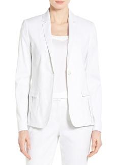 Elie Tahari 'Tova' One-Button Suit Jacket