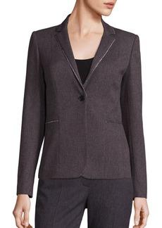 Elie Tahari Tova Textured Jacket
