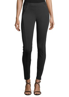 Elie Tahari Trina Skinny Stretch-Knit Ankle Pants