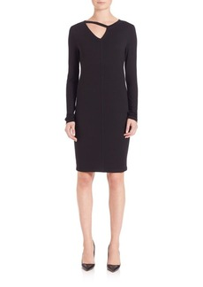 Elie Tahari Twlya Cutout Knit Dress