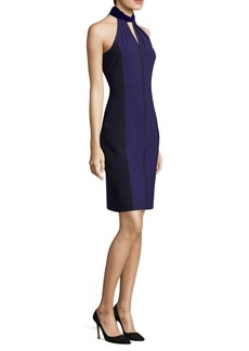 Two-Tone Sheath Dress