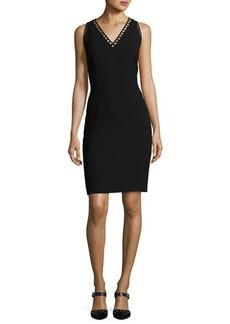Elie Tahari Venice Sleeveless Sheath Dress