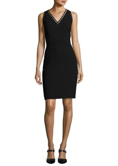 Elie Tahari Venice Sleeveless Sheath Dress