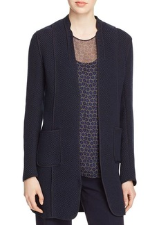Elie Tahari Wanda Piped Coat