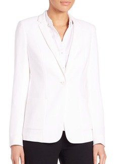 Elie Tahari Wendy Crepe Jacket