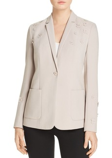 Elie Tahari Wendy Floral Appliqu� Blazer - 100% Exclusive