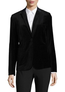 Elie Tahari Wendy Single-Button Jacket