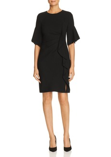 Elie Tahari Whitley Ruffle-Trim Dress