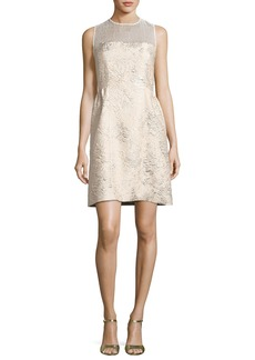 Elie Tahari Winny Sleeveless Textured Dress