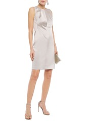 Elie Tahari Woman Dorit Satin-crepe Dress Black