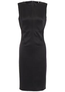 Elie Tahari Woman Dorit Satin-crepe Dress Black