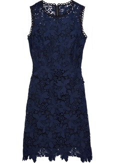 Elie Tahari Woman Guipure Lace Dress Indigo