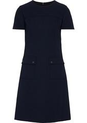 Elie Tahari Woman Jaelynn Cady Mini Dress Midnight Blue