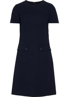 Elie Tahari Woman Jaelynn Cady Mini Dress Midnight Blue
