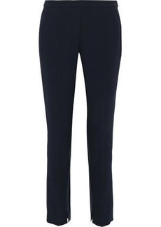 Elie Tahari Woman Marcia Crepe Skinny Pants Midnight Blue