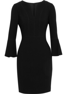Elie Tahari Woman Natanya Crepe Mini Dress Black
