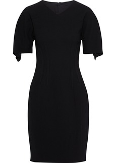 Elie Tahari Woman Percy Draped Crepe Dress Black